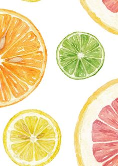 Nutrition Plan For Kids - - Nutrition Facts Funny - Nutrition Photography Lifestyle Watercolor Illustration, Watercolor Paintings, Fruit Illustration, Watercolours, Lemon Drawing, Fruit Painting, Polychromos, Fruit Art, Food Illustrations