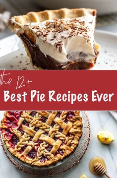 Love pie? These are the best pie recipes ever on Miss Allie's Kitchen & I know there's something here you'll love from chocolate to berry to pumpkin. There's a crust recipe that's easy and flakey, pumpkin, apple, chocolate, you name it! There are even savory recipes for Shepherds and taco pie. They're easy and always delicious! #pie #dessert #dessertrecipe Best Pie Recipe Ever, Sandwich Recipes, Pie Recipes, Brunch Recipes, Snack Recipes, Best Chocolate Desserts, Taco Pie, Crust Recipe, Kraft Recipes