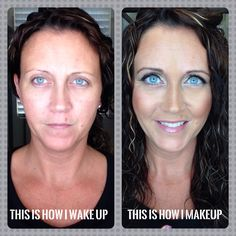 Check me out before no makeup and after I apply my Younique Makeup!. Products used: 3D fiber lash ➕ Mascara Glorious - face & eye Primer. BB Flawless - Honey. Mineral Touch Pressed Powder - Cashmere. Precision Brow Liner - medium. Precision Brow Gel - medium. Beachfront Bronzer - Hermosa. Splurge Cream Shadow - Elegant. Mineral Pigment - Feisty Moodstruck Precision Pencil liner- Pristine & Perfect. Lucrative Lipgloss - Loveable www.fablashmascara.com.