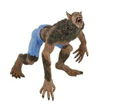 Papo Werewolf by Papo. $13.09. Werewolf is baring his teeth, and wears blue shorts. Part of the Fantasy series. Highly detailed Werewolf figure. From the Manufacturer                This Papo werewolf bares his teeth and wears blue shorts. More than 15 years ago, Papo decided to create princesses, dragons and knights. They strive to manufacture long-lasting, beautiful toys. Quality of the design and materials used remains their main concern. Another special characteristic ...