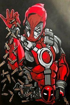 A pinch of salt exept It's Deadpool Deadpool Art, Deadpool Funny, Deadpool Superhero, Batman Spiderman, Marvel Art, Marvel Heroes, Marvel Comics, Deadpool Wallpaper, Avengers Wallpaper