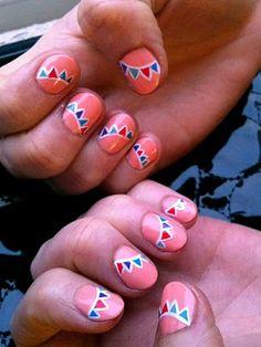 Flag nails!