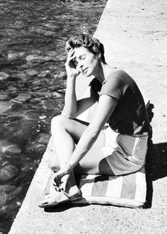 Chance : Sweden Collection Inspiration (Ingrid Bergman) #inspiration #style #icon