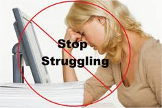 Welcome To Rosalynda's Blog!: Stop Struggling In Life!