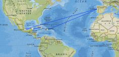 map of hernan cortez's route - Yahoo Image Search Results