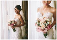 Bride Bouquet - Shades of Pinks & Creams Photography: Nectarine Photography