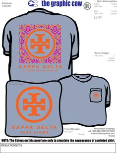 ...first of all, tory is a theta. so why is this a kappa delta shirt? second of all, this is super cute.