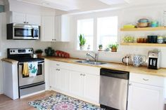 """Before & After: Casey's """"Roll With the Punches"""" Remodel — The Big Reveal Room Makeover Contest 2015"""