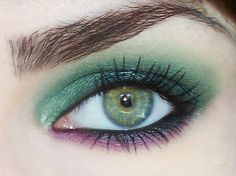 Daisy Disaster Makeup - Makeup for Green Eyes by Daisy Disaster™, via Flickr