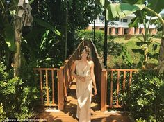 Another day in paradise: Earlier this week, she shared a shot of herself relaxing in Phuket