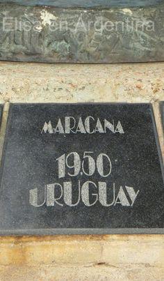 Monumento a los Campeones del Mundo de Fútbol, 1950, Montevideo