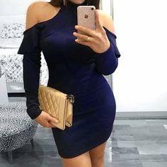 """28 curtidas, 3 comentários - MG Store (@mgstoremoda) no Instagram: """"Vestido Jeiza tubinho, ombro a ombro com bojo!! Os looks com recortes no ombro voltaram com tudo,…"""""""