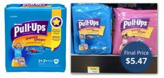 Huggies Pull-Ups, Only $5.47 at Walmart!