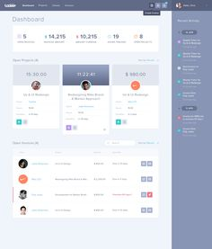 Dribbble - Tackkle_Dashboard.png by Balkan Brothers