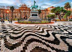 Plaza de Mayo in Buenos Aires, Argentina