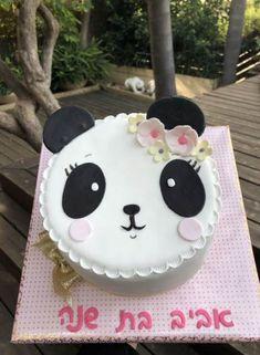 Birthday cake for boys Ideas Panda Bear Cake, Bolo Panda, Panda Birthday Cake, Birthday Cake Girls, Fondant Cakes, Cupcake Cakes, Pastel Mickey, Panda Cupcakes, Best Cake Mix