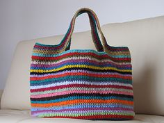 crochet bag pattern- again LOVE-a.e.