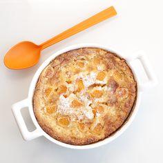 Hazelnut and apricot flognarde