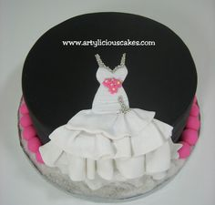 Bridal Shower Cake Maria S Dream Cakes Retail Therapy Is