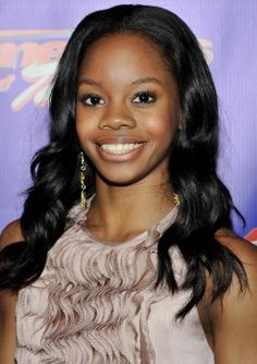 Gabby Douglas! You stole our hearts and made us proud! A few haters worried about a thing that didn't matter while you were on the balance bar! We love you. You Rock!
