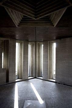 Architecture  Modern design : Brion Cemetery Carlo Scarpa 1972 San Vito D'Altivole Treviso Italy