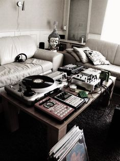 Living room DJ