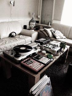 Living room DJ