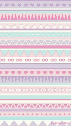 Image shared by ♡Ashley Nicole♡. Find images and videos about pink, wallpaper and pastel on We Heart It - the app to get lost in what you love. Tribal Wallpaper, Pastel Iphone Wallpaper, Pink Iphone, Iphone Background Wallpaper, Kawaii Wallpaper, Tumblr Wallpaper, Cellphone Wallpaper, Cool Wallpaper, Pattern Wallpaper