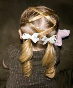 6 Simple Hairstyles For Girls With Short Hair | Kidsomania