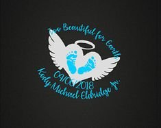Infant Loss In Loving Memory Vinyl Decal Too Beautiful Baby Memorial Decal Car Decal Phone Decal Craft Decal Customizable Personalize Lost Baby Tattoo, Baby Tattoos, Tatoos, Phone Decals, Vinyl Decals, Car Decals, I Love You Text, Baby Angel Wings, Alternative Disney Princesses