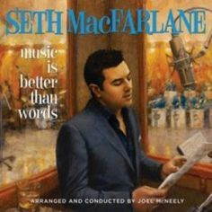 """-- Seth MacFarlane, creator and star of TV's animated hits """"Family Guy,"""" """"American Dad"""" and """"The Cleveland Show,"""" is known for two things: a sense of humor so black it makes the British wince and his sultry Frank Sinatra-esque voice. Seth Macfarlane, Cleveland Show, Norah Jones, Sara Bareilles, American Dad, Lp Vinyl, Debut Album, Booklet, Musica"""
