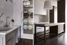 Tipos de encimeras de cocina Kitchens, Table, Furniture, Home Decor, Kitchen Countertops, Decorating Kitchen, Home, Decoration Home, Room Decor