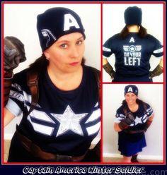 Captain America running costume for avengers half marathon rundisney