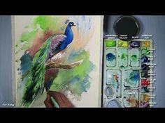 How to Paint A Bird in Watercolor - YouTube