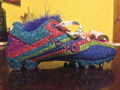 """""""Muses shoe created by Madison Curry""""  Mardi Gras 2015: Show us your Muses shoes 