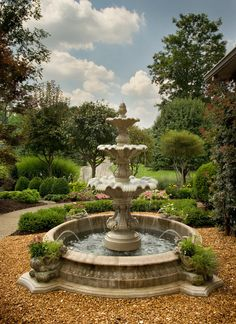 19 Brilliant Tiered Fountain Design To Enhance The Look Of Your Courtyard