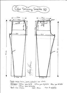 calça skinning (tamanho: 40)