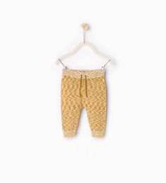 $17.90 / Image 1 of Knit trousers from Zara