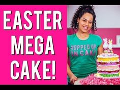 Easter Lavender-Infused Coconut Macaroon Cake with Orange Blossom Hone – HOW TO CAKE IT