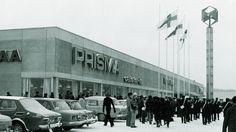 Seppälän Prisman avauspäivänä 22.11.1972 uuteen kauppaan kävi tutustumassa yli 20 000 asiakasta