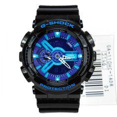 Casio G-Shock Extra Large Hyper Colors Watch GA-110HC-1A GA110HC