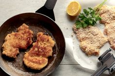 NYT Cooking: a recipe for chicken scaloppine with a simple and bright lemon and white wine sauce. Best Chicken Thigh Recipe, Chicken Thigh Recipes, Wine Sauce, Lemon Recipes, Chicken Thighs, Chicken Breasts, How To Cook Chicken, Main Dishes, Cooking Recipes