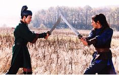 Takeshi Kaneshiro & Andy Lau - House of Flying Daggers Best Martial Arts, Martial Arts Movies, Andy Lau, Sony Pictures Entertainment, House Of Flying Daggers, Sound Film, Takeshi Kaneshiro, Sword Fight, Cinema Film