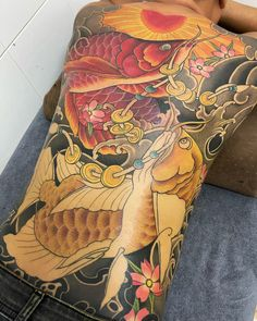 Yakuza Tattoo, Irezumi, Lunges, Fish, Tattoo, Tatoo, Pisces, Tattoos, Tattos