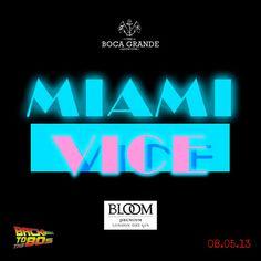 #LosMiercolesExisten #MiamiVice #80sDjSet