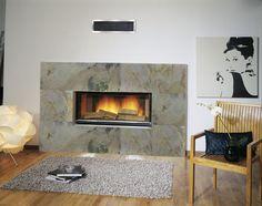 Looking to renovate your fireplace?? Laminatti Flexible Stone Veneer