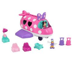 Disney Mickey Mouse & Friends Minnie Mouse Fashion Jet by Fisher-Price Mickey Mouse Toys, Mickey Mouse And Friends, Disney Mickey Mouse, Toys R Us, Toddler Toys, Kids Toys, Toddler Stuff, Mermaid Wallpapers, Fisher Price Toys