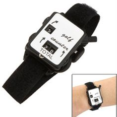 Keep score on the golf course with this golf scorekeeper wristwatch! 53% Off - $7 with FREE shipping! #HalfOffDeals #GolfScorekeeperWristwatch #GolfAccessories #Golf