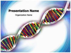 Helix Dna Strand PowerPoint Presentation Template is one of the best Medical…