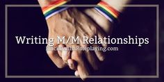 To read BDRP's guide on how-to write M/M Relationships, check us out on BlackDahliaRoleplaying.com! | author: @Ashryn , graphic: @serendipity #bdrp #event #guide #writing #roleplaying #story #blackdahliaroleplaying #banner #relationship #pairing